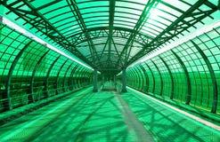 Меньшее кольцо железных дорог MCC Москвы, или MK MZD, 54 железная дорога орбитали 4-kilometre-long Россия Железнодорожный вокзал  Стоковое фото RF