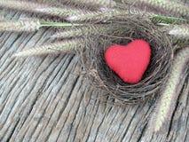 Меньшее красное сердце стоковое фото rf