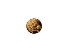 Меньшее медаль с стороной льва Стоковые Изображения