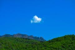 Меньшее облако Стоковые Изображения RF