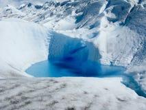 Меньшее озеро в леднике Стоковая Фотография RF