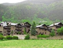 меньшее село стоковое изображение rf