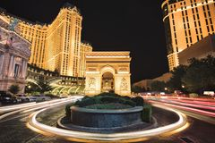 Меньшее Champs-Elysees стоковое изображение