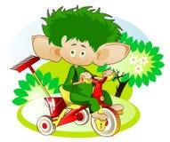 Меньшее Gnom - садовник Стоковые Фотографии RF