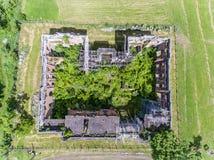 Меньшее Trianon экземпляр дворца Trianon в Floresti Prahov стоковое фото