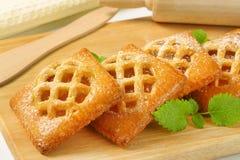 Меньшие пироги абрикоса стоковая фотография rf