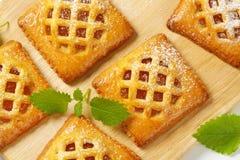 Меньшие пироги абрикоса стоковые фото