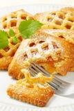 Меньшие пироги абрикоса стоковые изображения