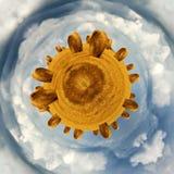 Меньшие связки сена планеты Стоковое Изображение