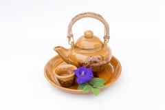 Меньшие чашка и бак чая Стоковая Фотография RF