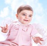 Меньший ангел в небе Стоковые Изображения