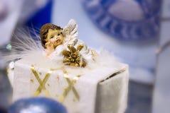 Меньший ангел, украшение Стоковые Изображения