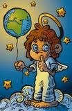 Меньший ангел-хранитель Иллюстрация штока