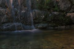 меньший водопад Стоковая Фотография RF
