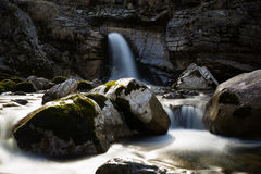 меньший водопад Стоковое Изображение