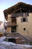 Меньший городок в Aosta Valley 2 Стоковое фото RF