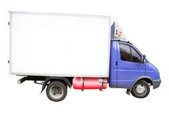 меньший грузовик стоковое фото