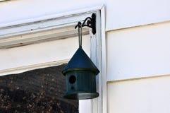 Меньший зеленый Birdhouse Стоковое Изображение RF