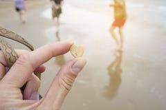 Меньший камень сердца форменный Стоковое Изображение