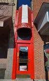 Меньший магазин попкорна Стоковые Изображения