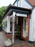 Меньший магазин ручной работы ткани соткать Стоковая Фотография