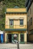 Меньший магазин Coffe в Levis Квебеке стоковое фото