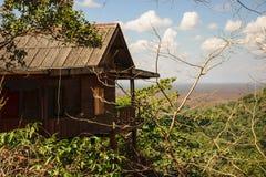 Меньший дом на держателе стоковая фотография