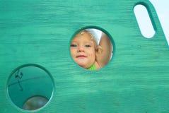 Меньший прятать ангела Стоковое Фото
