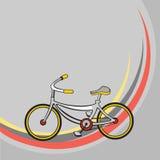 Меньший смешной велосипед Стоковое Изображение RF