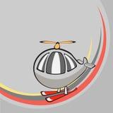 Меньший смешной вертолет Стоковое Изображение RF