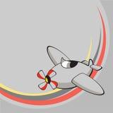Меньший смешной самолет. Стоковое Изображение