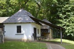 Меньший старый дом в музее в Сибиу, Румынии Стоковое Изображение