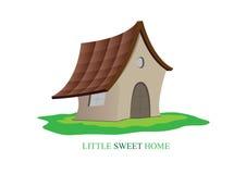 Меньший сладостный дом Стоковое Изображение RF