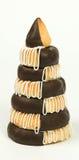 Меньший торт марципана на Новый Год Стоковые Изображения