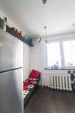 Меньший угол в кухне стоковое изображение rf