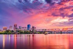 Меньший утес, Арканзас, США Стоковые Изображения RF