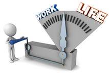 Работайте баланс жизни иллюстрация штока