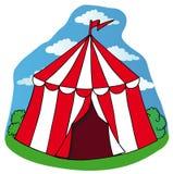 Меньший шатер цирка иллюстрация штока