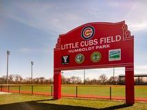 Меньший Cubs Field в парке Гумбольдта стоковое фото rf