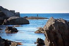 Меньшяя бухточка моря стоковая фотография rf