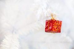 Меньшяя красная коробка подарка Стоковая Фотография RF