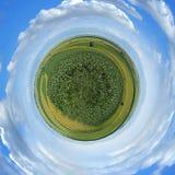 меньшяя планета панорамы Стоковое Изображение RF