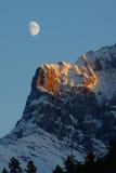 меньшяя сестра луны стоковые фотографии rf