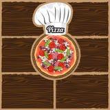 Меню кафа ресторана, дизайн шаблона Рогулька еды иллюстрация вектора
