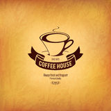 Меню для ресторана, кафа, штанги, дома кофе Стоковое Изображение