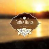 Меню для ресторана, кафа, штанги, дома кофе Стоковые Изображения