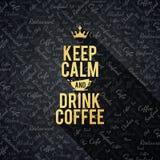 Меню для ресторана, кафа, штанги, дома кофе Стоковая Фотография RF