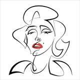 Мерилин Монро бесплатная иллюстрация