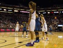 Меркурий WNBA Феникса бьет рыся Минесоты Стоковые Изображения