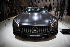 Мерседес Benz AMG GT 50 варианта автомобиль 2017 спорт Стоковые Фото